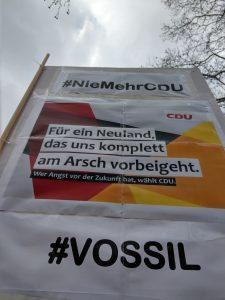 Für ein Neuland, das uns komplett am Arsch vorbeigeht. - CDU
